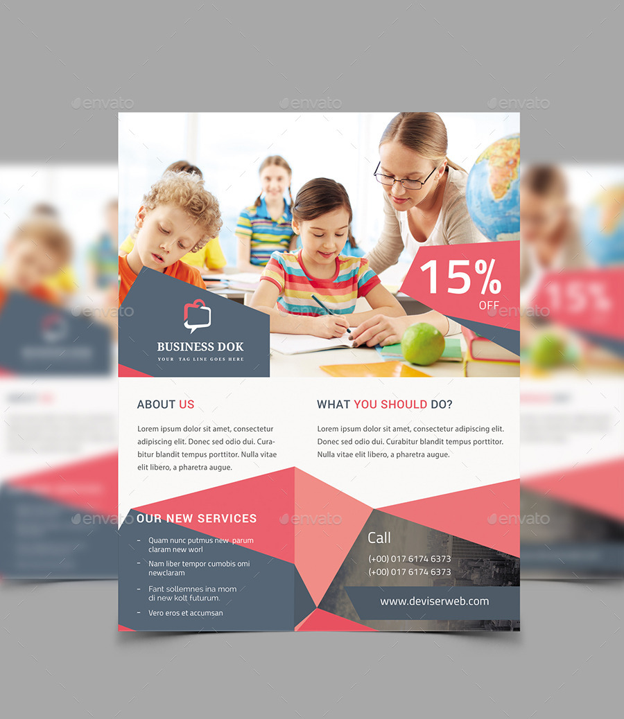 Creative Business Flyer By Redwanulhaque