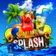 Summer Splash Cocktails Party Flyer - GraphicRiver Item for Sale