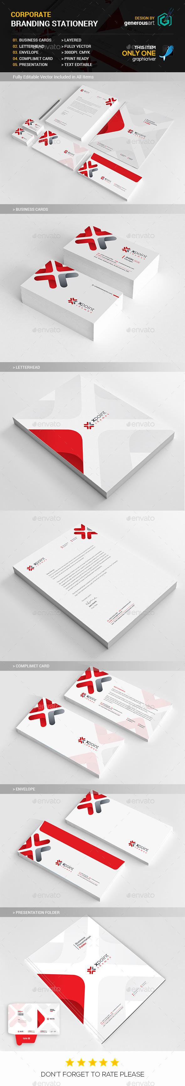 Branding Stationery_2 - Stationery Print Templates