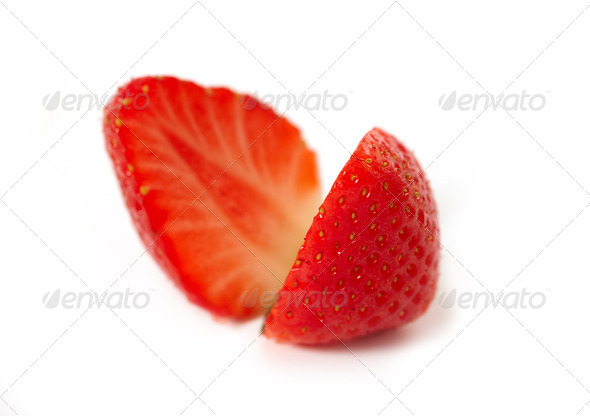 strawberry macro - Stock Photo - Images