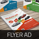 Automotive Car Flyer Ad Indesign Template - GraphicRiver Item for Sale
