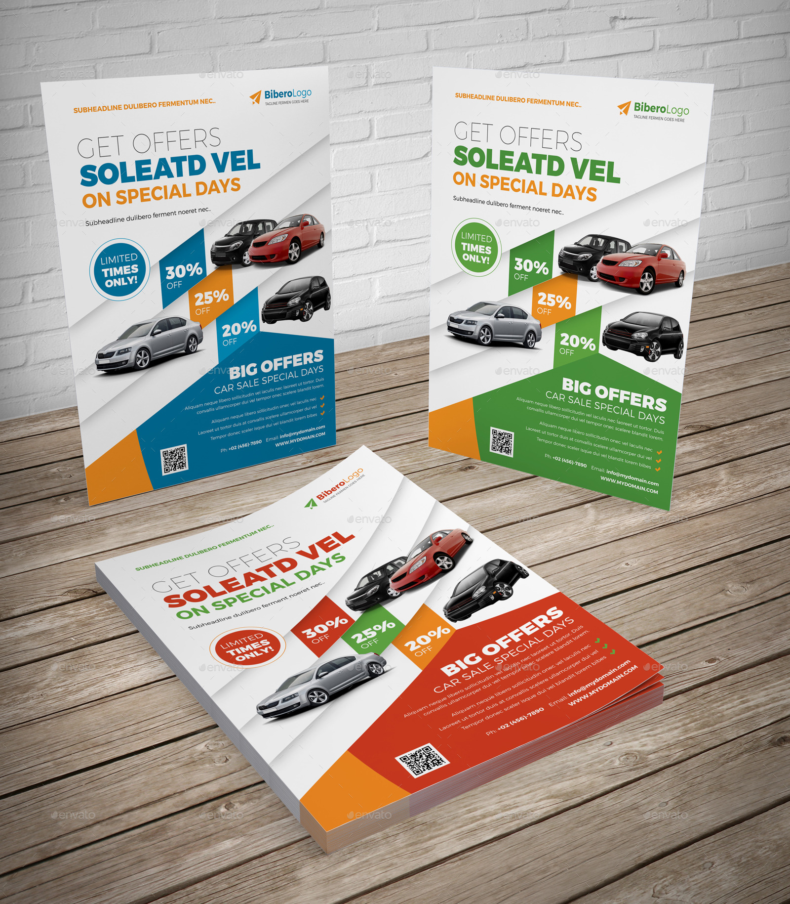 Automotive Car Flyer Ad Indesign Template by Jbn-Comilla   GraphicRiver