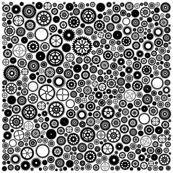 Gears background - Backgrounds Decorative