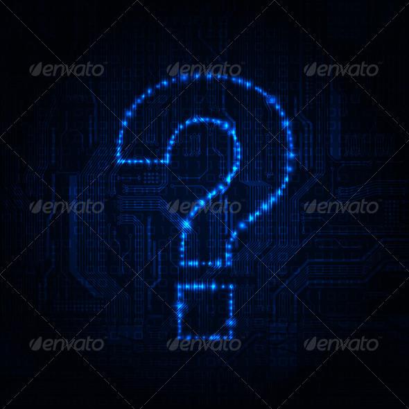 Question - Backgrounds Decorative