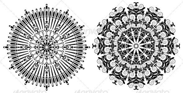 Decorative circles - Decorative Vectors