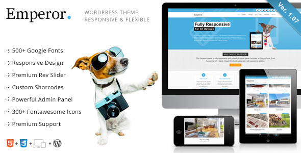Emperor - Responsive Multi-Purpose Theme