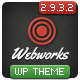 Webworks - Responsive WordPress Theme Nulled