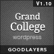 Grand College - Wordpress Theme For Education Nulled
