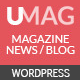 UMag - Responsive WordPress News / Magazine Theme - ThemeForest Item for Sale