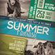 Summer Event Flyer / Poster Vol.4 - GraphicRiver Item for Sale