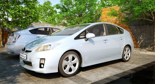 Toyota Prius : CAR4ARCH Vol.1 - 3DOcean Item for Sale