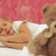 Little Girl Sleeping In Bed - VideoHive Item for Sale