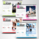 Multipurpose 2016 Desk Calendar - GraphicRiver Item for Sale