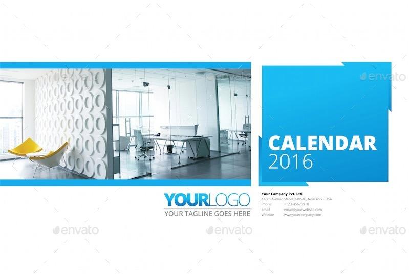 multipurpose 2016 desk calendar by gusmancahyadi graphicriver