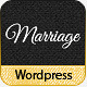 Marriage - Responsive Wedding Wordpress Theme Nulled