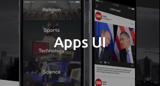 Apps UI Design