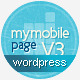 My Mobile Page V3 Wordpress Theme - ThemeForest Item for Sale