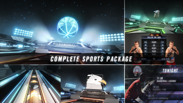 Action Zone Complete Sports Broadcast Package By Voxyde Videohive