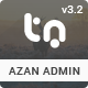 Azan - Bootstrap Responsive Admin Template - ThemeForest Item for Sale