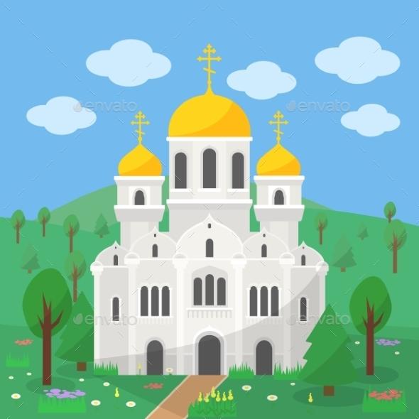 Orthodox Church - Religion Conceptual