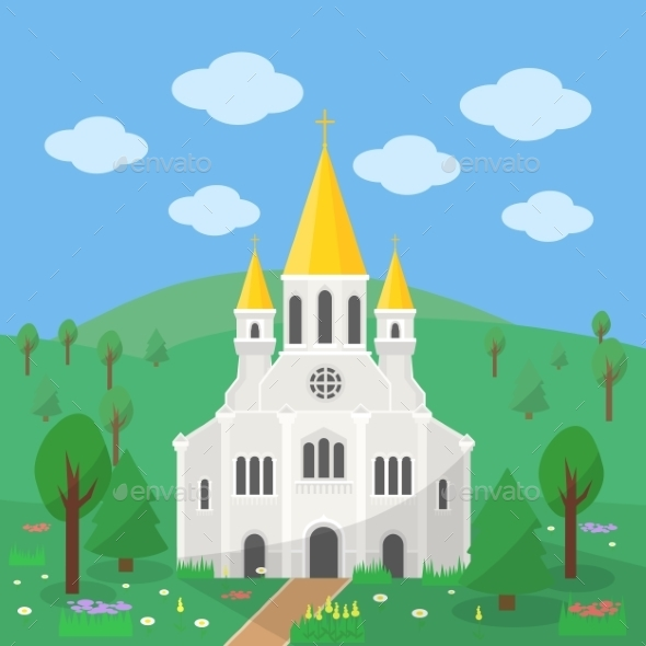 Catholic Church - Religion Conceptual