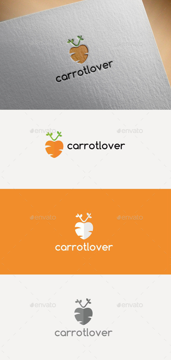 Carrot Lover - Logo Templates