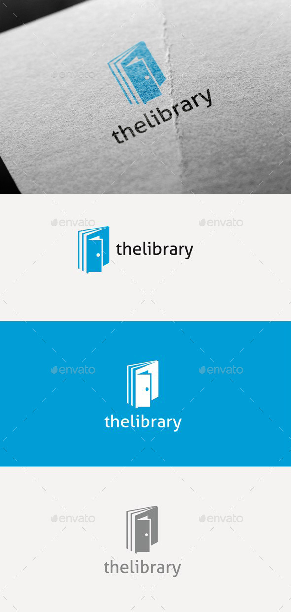 The Library - Logo Templates