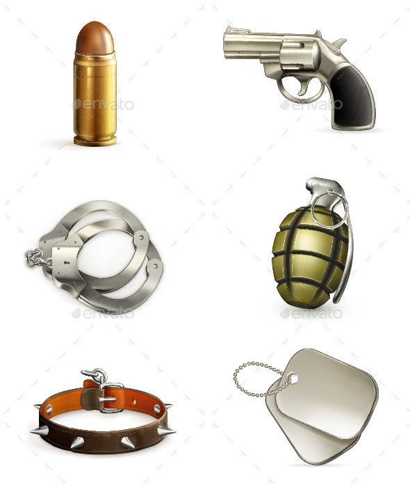 Armory Icons - Man-made Objects Objects