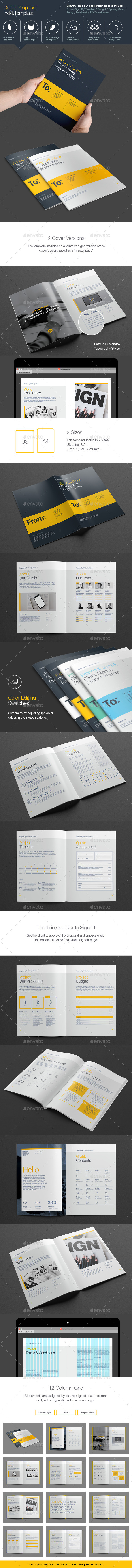 Grafik Proposal - Proposals & Invoices Stationery