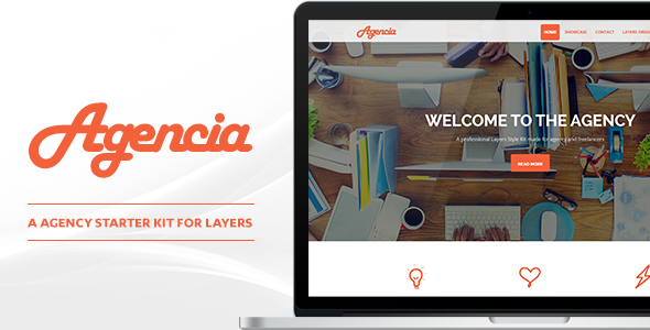 Agencia - Agency Style Kit for Layers - CodeCanyon Item for Sale