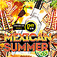 Summer Mexican Party PSD Flyer - GraphicRiver Item for Sale