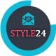 Style24 - Clean & Cool Responsive Email Template - ThemeForest Item for Sale