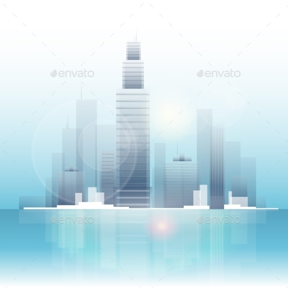 City Skyscraper View Cityscape Background Skyline - Buildings Objects