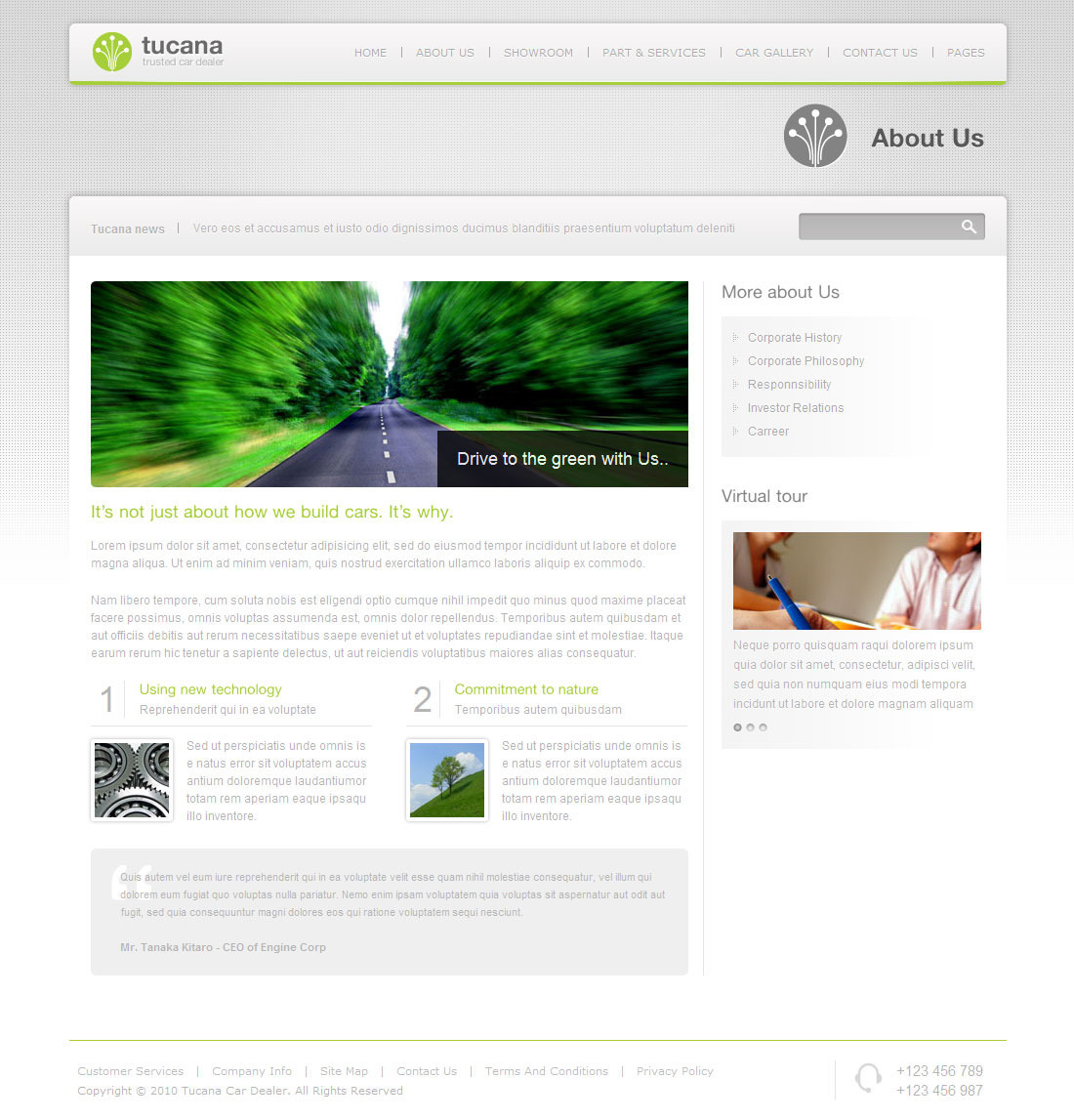 Tucana Car Dealer Wordpress Theme By Indonez ThemeForest - Contact us map is not working in job career theme