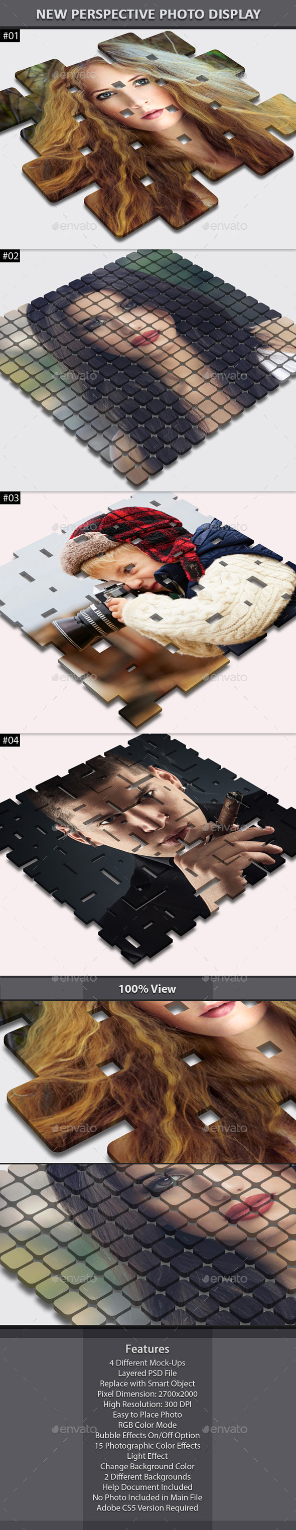 New Perspective Photo Display - Miscellaneous Photo Templates