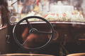 Vintage Steering Wheel - PhotoDune Item for Sale