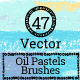 Vector Oil Pastels Brushes - GraphicRiver Item for Sale