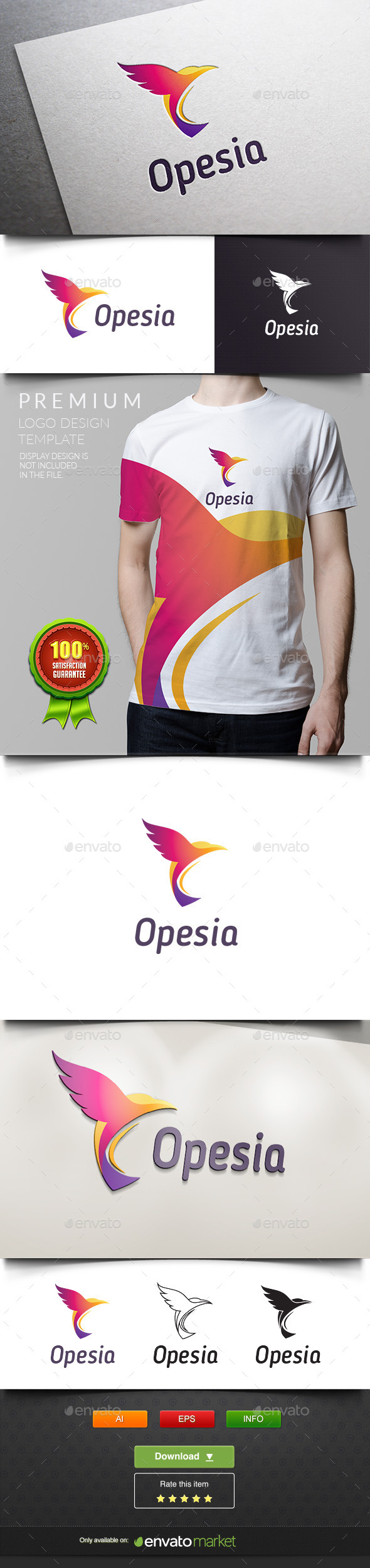 Opesia - Transport Travel - Animals Logo Templates
