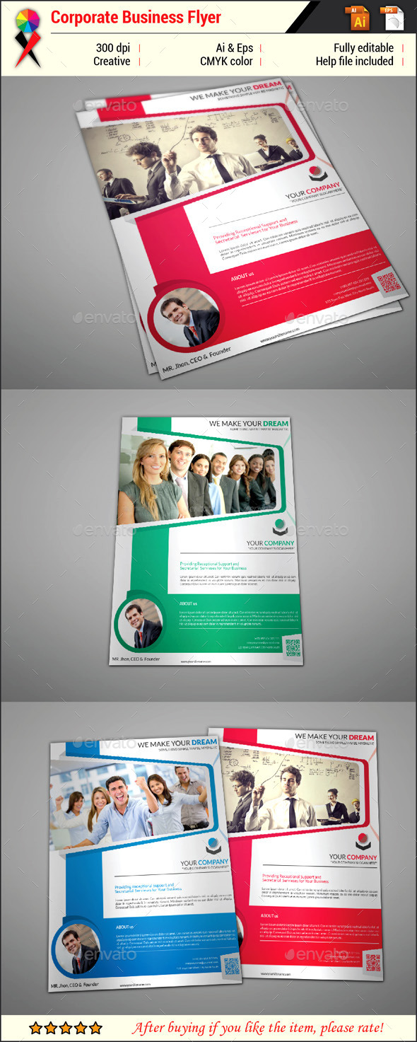 Creative Corporate Business Flyer - Corporate Flyers