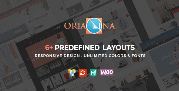 Orianna – Responsive WooCommerce Fashion Theme