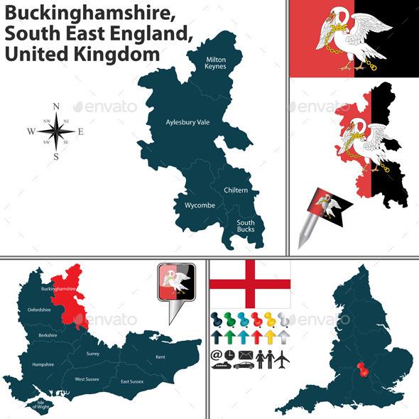 Buckinghamshire, South East England, UK - Travel Conceptual