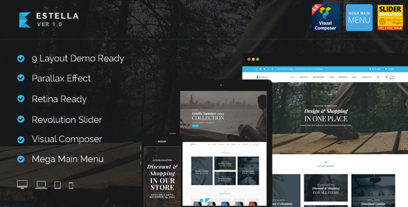 Estella – eCommerce Layouts Theme