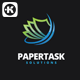 Paper Task Logo - GraphicRiver Item for Sale
