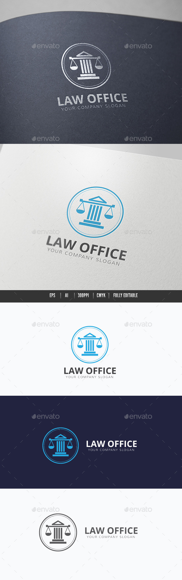 Law Office - Crests Logo Templates