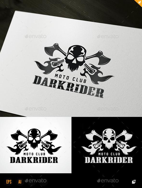 Rider Club - Crests Logo Templates