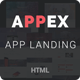 AppEx - Responsive Multi-Purpose Apps Landing Page - ThemeForest Item for Sale