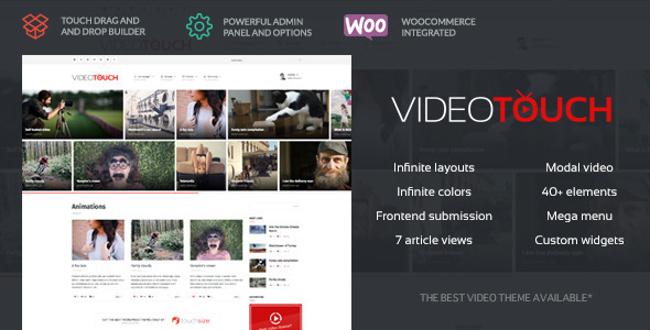 VideoTouch – Video WordPress Theme