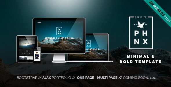 Phoenix – WordPress Minimal Multipurpose Portfolio Visual Composer