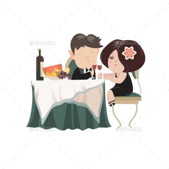 Young Adult Couple Drinking Red Wine - People Characters