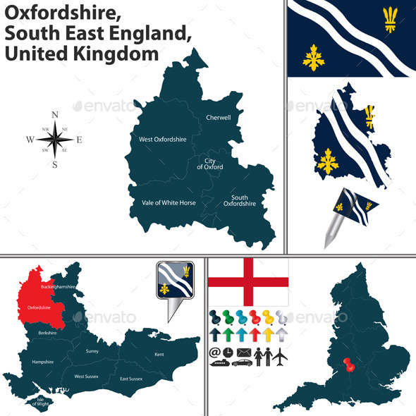 Oxfordshire, South East England, UK - Travel Conceptual